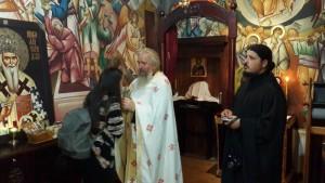 Молебан у Духовном центру