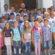 Ђаци и учитељи на црквеној слави у Драгојевцу