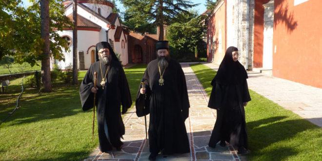 Митрополит аркадијски г. Василије из Антиохијске Патријаршије у посети Епископу жичком г. Јустину