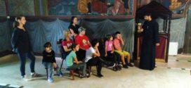 Деца са посебним потребама посетила Храм Светог Илије у Бајиној Башти