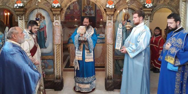 Света Архијерејска Литургија у Храму Светих Јоакима и Ане у Прељини