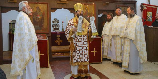 Света Архијерејска Литургија у Чајетини