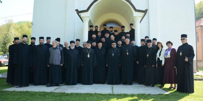 Братски састанак и исповест свештенства Архијерејског намесништва жичког