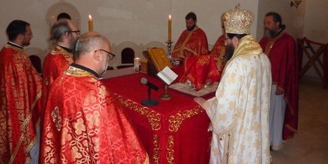 Света Архијерејска Литургија у Светосавском храму у Краљеву