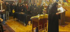 Опело и сахрана монахиње Варваре из Манастира Никоља