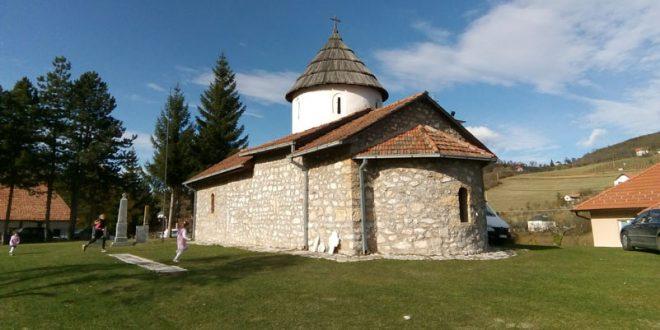 Епископ Јустин у канонској посети цркви у Брекову